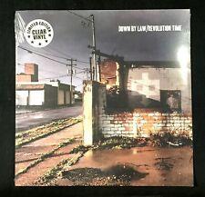 DONW BY LAW - REVOLUTION TIME Clear Vinyl LP New Autonomy Rebel Conformist