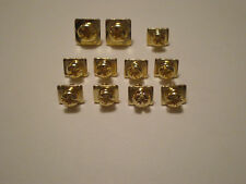 GOLD PLATED AMPLIFIER SPEAKER POWER GROUND TERMINAL SCREW SET 11PCS