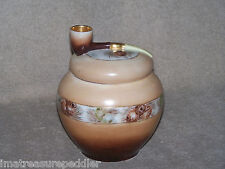 Antique Imperial PSL Pfeiffer Lowenstein Austria H Painted Humidor Pipe Pinecone