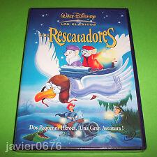 LOS RESCATADORES CLASICO DISNEY NUMERO 23 DVD NUEVO Y PRECINTADO