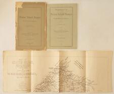 RARE 1896 STATEN ISLAND YE OLDE NAMES NICKNAMES WITH SUPPLEMENT & MAP DAVIS LENG