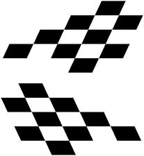 Stock Rally Car Racing Chequered Stickers/Decals