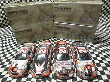 (4) - 1/24 Tony Stewart Milestone Cars - 1st Win, 1998 ROY, 2x Champ, Indy Win
