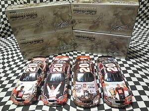 (4) - 1/24 Tony Stewart Milestone Cars - 1st Win, 1998 ROY, 2x Champ, Indy Win