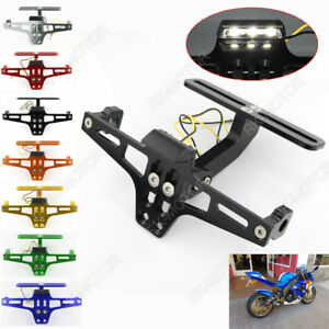 Fender Eliminator Kit License Plate Holder Tail Tidy Fit For YAMAHA YZF R1 99-18
