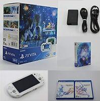 PlayStation Vita FINAL FANTASY X/X2 HD Remaster RESOLUTION BOX Used