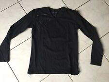 Tee-shirt pull GUESS Taille S noir