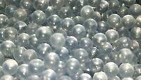 Clear airsoft bbs 6mm Glass 0.28g .28 Round Balls Beads 250ct Air Soft Pellett