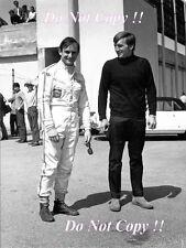 Chris Amon & Derek Bell Ferrari F1 Portrait 1968 Photograph