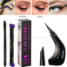 Vamp Stamp Easy Cat Eye Wing Eyeliner Pencil ,NYX The Curve Liquid Eye Liner Pen