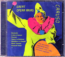 Enrico CARUSO Great Opera Arias the Comback RCA 2002 CD Giordano Puccini Verdi