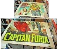 Captain Furia Manifesto 4F Original 1939 Lang Carradine