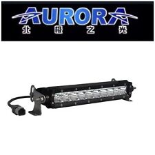 "10"" AURORA S-Series Single Row Combo Beam Pattern 50W 5,390 Lumens Osram LEDs"