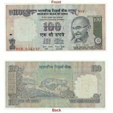 Indian 100 Rupees Double Error Note Collectible Shifting, Missing Error G5-78 US