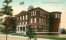 RICHMOND HILL QUEENS NY HIGH SCHOOL 1909 P/C