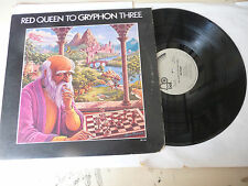 "GRYPHON"" RED QUEEN TO THREE-disco 33 giri BELL Uk 1974"" RARO"