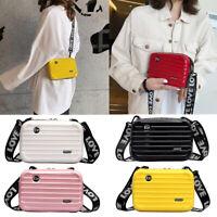 Mini Luggage Design Messenger Bag Long Strap Shoulder Bag Cellphone Bags