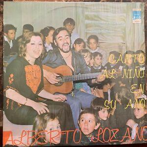 ALBERTO LOZANO -CANTO AL NIÑO EN SU AÑO- 1979 MEXICAN LP IN SHRINK WRAP CHILDREN