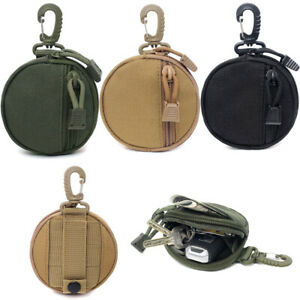 Tactical Key Bag Coin Purse Mini Molle Pouch Useful Outdoor EDC Belt Waist Pack