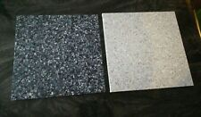 "Lot of 2 Hi-Macs Granite Scraps 10"" x 10 and 9 3/4"" x 9 3/4"" (1/2"" thick) Corian"