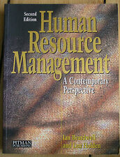 HUMAN RESOURCE MANAGEMENT A CONTEMPORARY PERSPECTIVE BEARDWELL & HOLDEN 1997