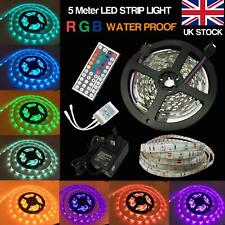 Christmas LED Adhesive Strip 220V 240V 5050 SMD tape Waterproof Lighting plug UK