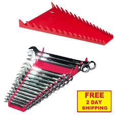 Wrench Organizer Sorter Tool Box Holder Socket Craftsman Rail Tray Storage Rack