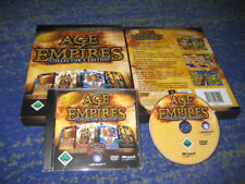 Age of Empires Collectors Edition 4 Teile + Soundtrack NEUw. in BIG BOX