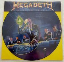 "Megadeth ‎Rust In Peace - 12"", 33 RPM, LP, Picture Disc"