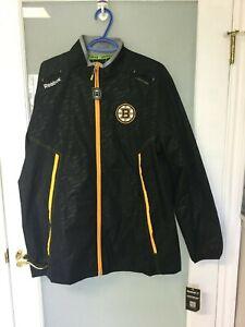 Reebok Center Ice Boston Bruins Jacket Large