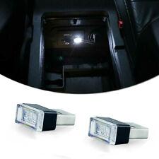 2Pcs Universal Car White Usb Plug-In Miniature Led Interior Ambient Lighting Kit(Fits: Neon)