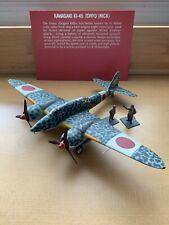 WW2 Japanese IJAAF KI-45 Toryu (Nick) Model Airplane & Figurines - Museum Pieces