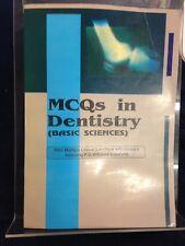 Mcqs in Dentistry (Basic Sciences) by Dr. Vijay Pratap Singh (1995) Pb 180917