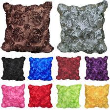 Cushion Cover Bright Color Wedding Hotel Supplies Decor Home Floral Pillowcase