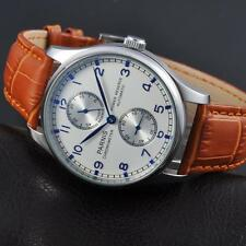 Parnis 43mm steel Power Reserve Chronometer Automatic ST2542 mens Watch 1253