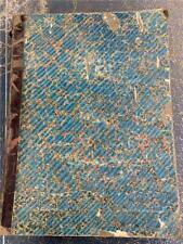 Scarce 1868 bound Volume The Argus Newspaper Melbourne Royal assassination gold