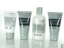 Anthony Logistics For Men Shave Kit: Cleanser + scrub + cream + balm