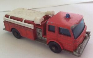 Lesney Matchbox Fire Pumper. Vintage England