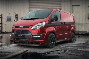 Passend für Ford Transit Custom Frontstoßstange Heckstoßstange wide body kit