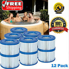 12 Pack Lay Z Lazy Hot Tub Spa Pool Miami Vegas Monaco Hawaii Cartridge Filter