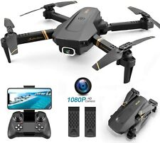 4DRC V4 Foldable Drone with 1080p HD Camera for Adults and Kids, Quadcopter LIVE