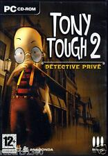 JEU PC CD ROM../....TONY TOUGH 2...DETECTIVE PRIVE....