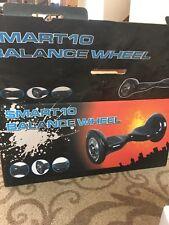 """Smart Balance 2 Wheels 10"""" Electric Skateboard Ul2272 Certified Fire Bluetooth"""