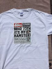 Cardiff Devils T-shirt 'Brad Voth ate my Hamster' Large