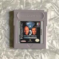 Star Trek Generations Beyond Nexus Nintendo Gameboy Cartridge Cleaned TESTED VG+