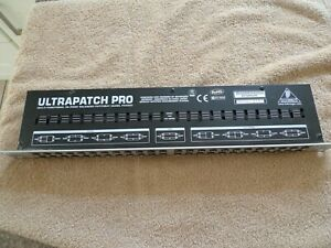 Behringer PX3000 Ultrapatch Pro Multi Functional 48 Point, 3 Mode Balanced Pa...