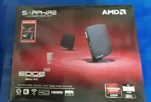 Mini Computer Sapphire Edge Hd3 320gb Disco Rigido HDMI 4gb Ddr3 USB 3.0 HD