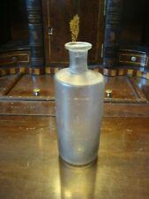 Antique Crude Circa 1840 Medicine Bottle Pontil Base