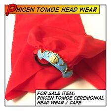 PHICEN/TBLeague Tomoe Samurai Head Wear/Cape fit 1/6 12 in scale Female Body