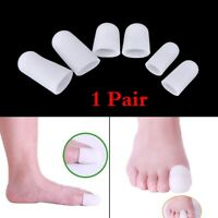 Reusable Pain Relief Foot Care Toe Finger Sleeves Tube Toe Separator Protector